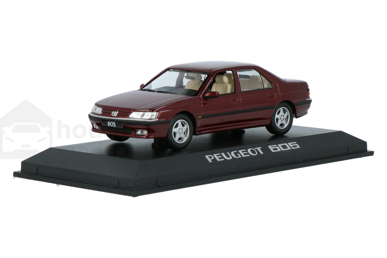 Peugeot 605 - Modelauto schaal 1:43