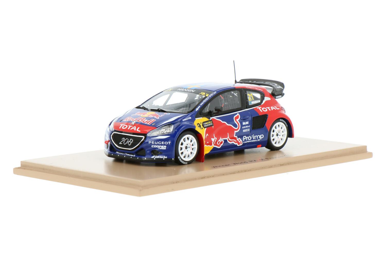 Peugeot 208 WRX - Modelauto schaal 1:43