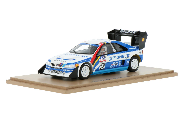 Peugeot 405 Turbo - Modelauto schaal 1:43