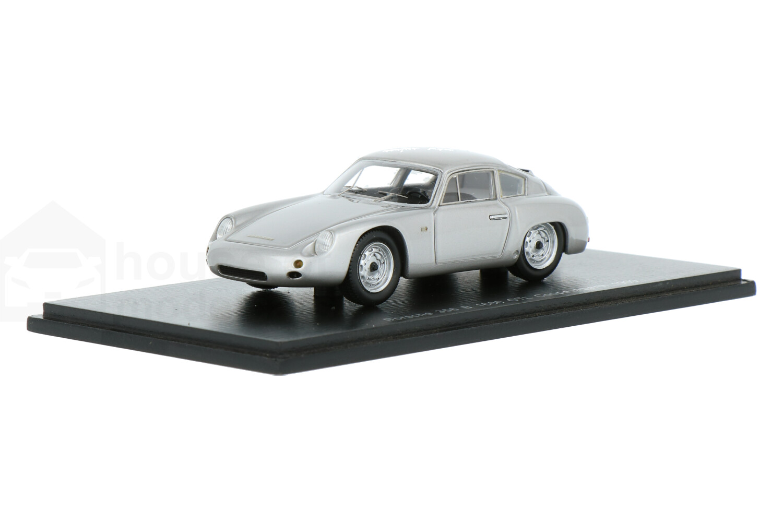 Porsche 356 B 1600 GTL Coupe Abarth - Modelauto schaal 1:43