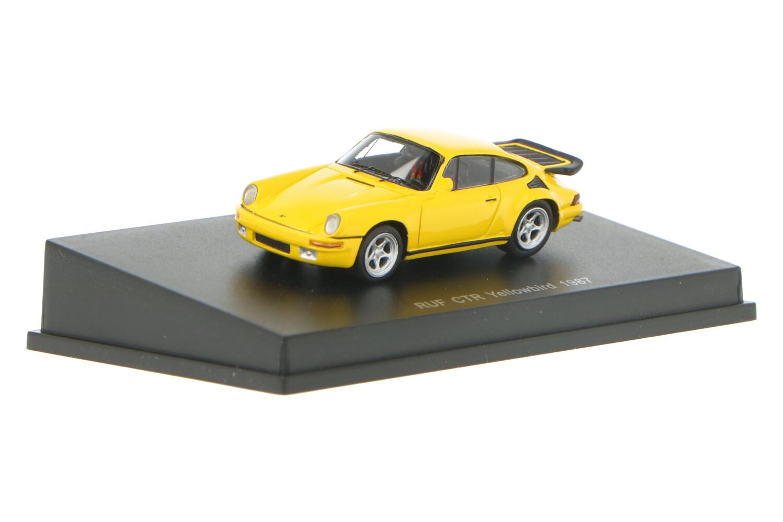 Porsche 911 RUF CTR Yellowbird - Modelauto schaal 1:87