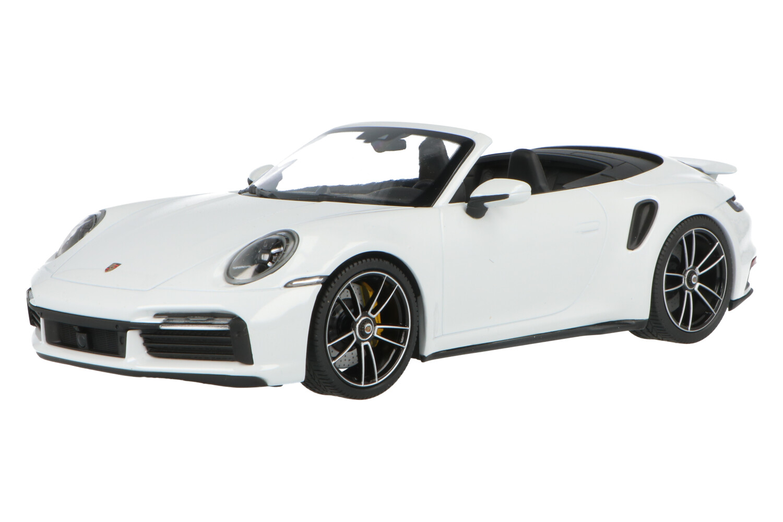 Porsche Porsche 911 (992) Turbo S Cabriolet  - Modelauto schaal 1:18