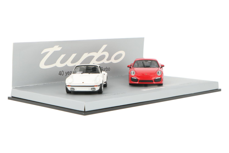 Porsche 911 Turbo - 911 Turbo 3.0 40 Years 911 Turbo Set - Modelauto schaal 1:43