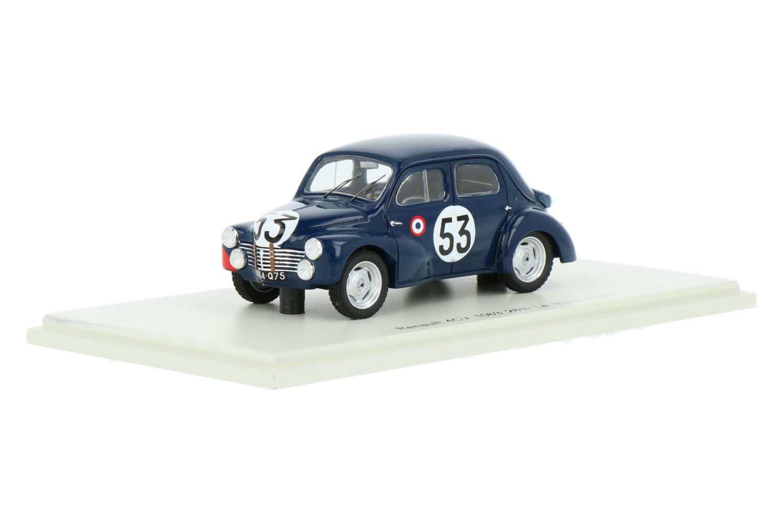 Renault 4CV - Modelauto schaal 1:43