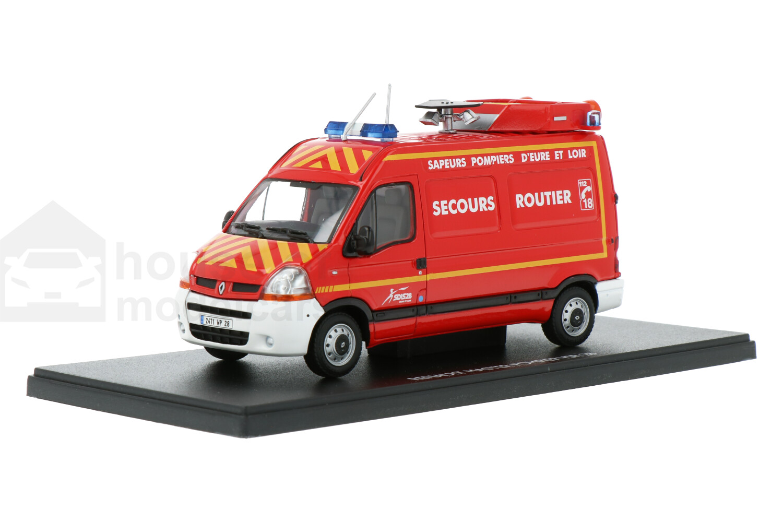 Renault Master Pompier VSR 28 - Modelauto schaal 1:43