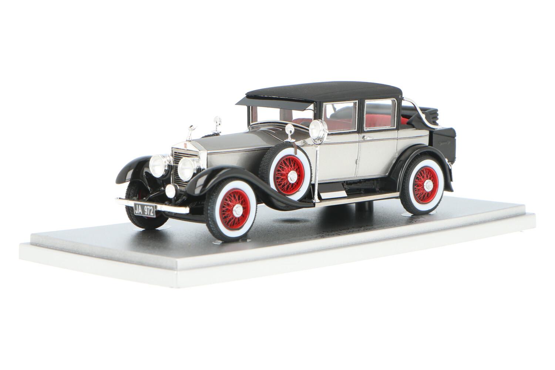 Rolls Royce 40/50 Silver Ghost Tilbury By Willoughby Landaulette - Modelauto schaal 1:43