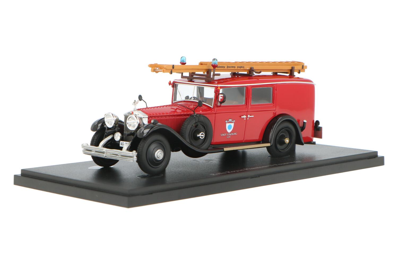 Rolls Royce Phantom II Feuerwehr - Modelauto schaal 1:43