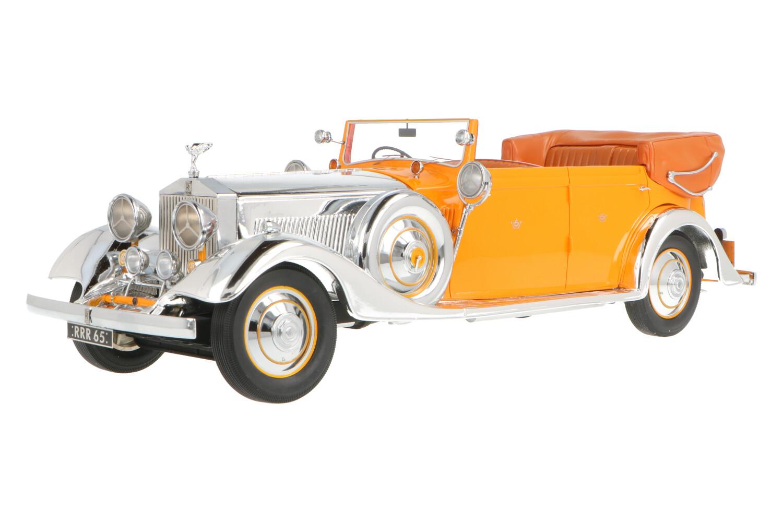 Rolls Royce Phantom II Thrupp & Maberly 'Star of India' - Modelauto schaal 1:18