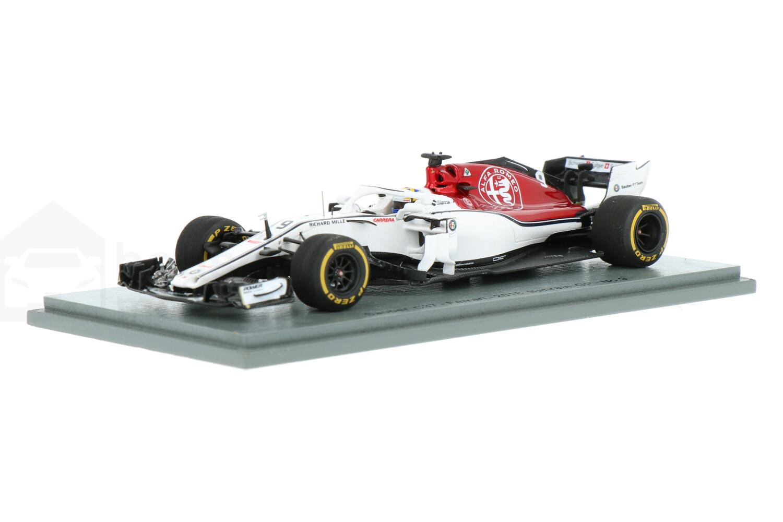 Sauber C37 Ferrari - Modelauto schaal 1:43