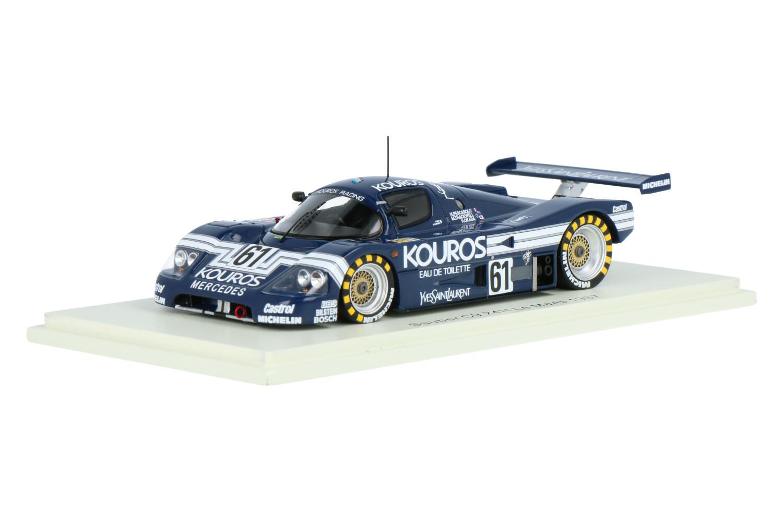 Sauber C9 Mercedes - Modelauto schaal 1:43
