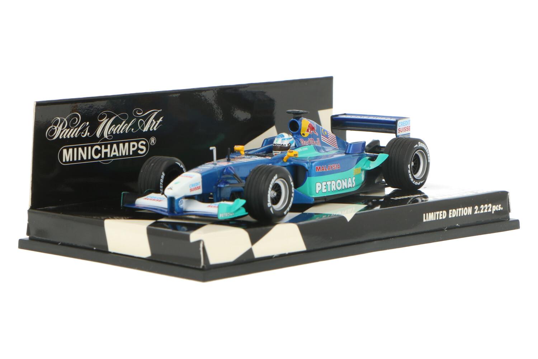 Sauber Petronas C20 - Modelauto schaal 1:43