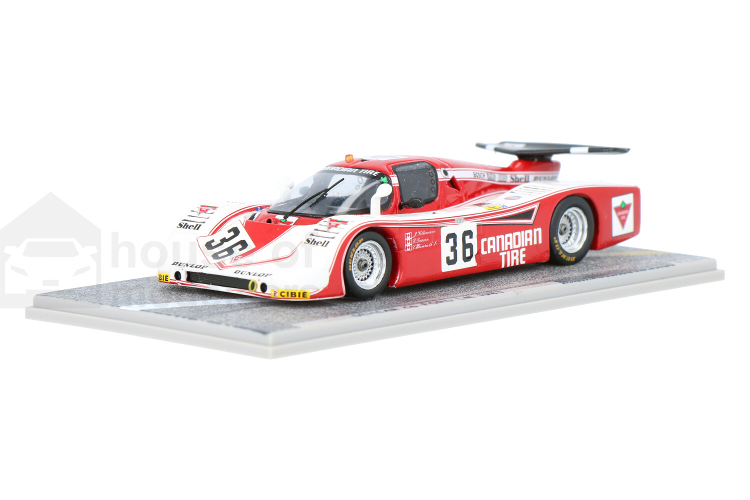 Sehcar SH C6 Ford Cosworth - Modelauto schaal 1:43