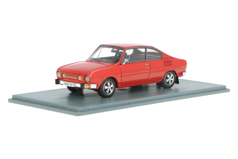 Skoda 110R Coupé - Modelauto schaal 1:43