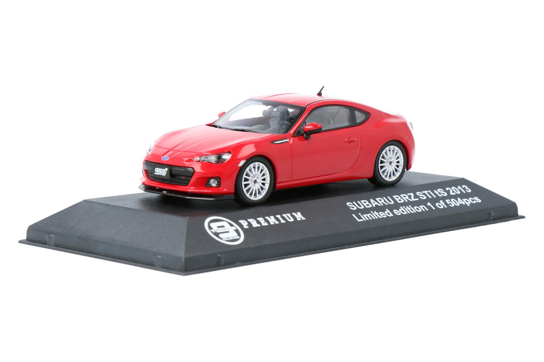 Subaru BRZ STI tS - Modelauto schaal 1:43