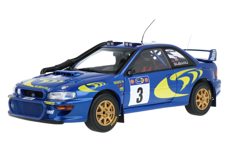 Subaru Impreza S3 WRC - Modelauto schaal 1:18