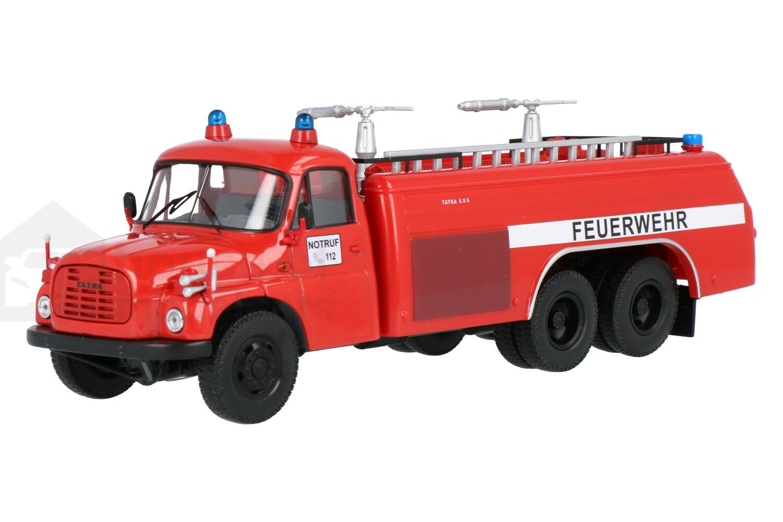 Tatra T148 Brandweer - Modelauto schaal 1:43