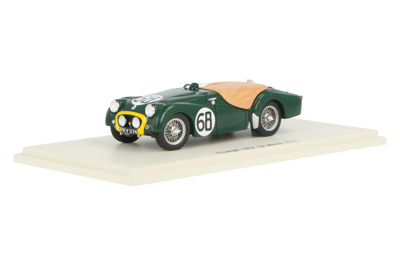 Triumph TR2 - Modelauto schaal 1:43