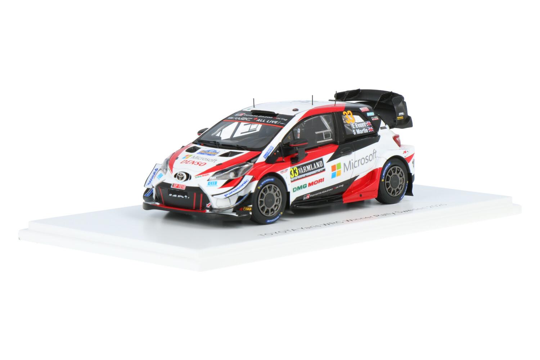 Toyota Yaris WRC - Modelauto schaal 1:43