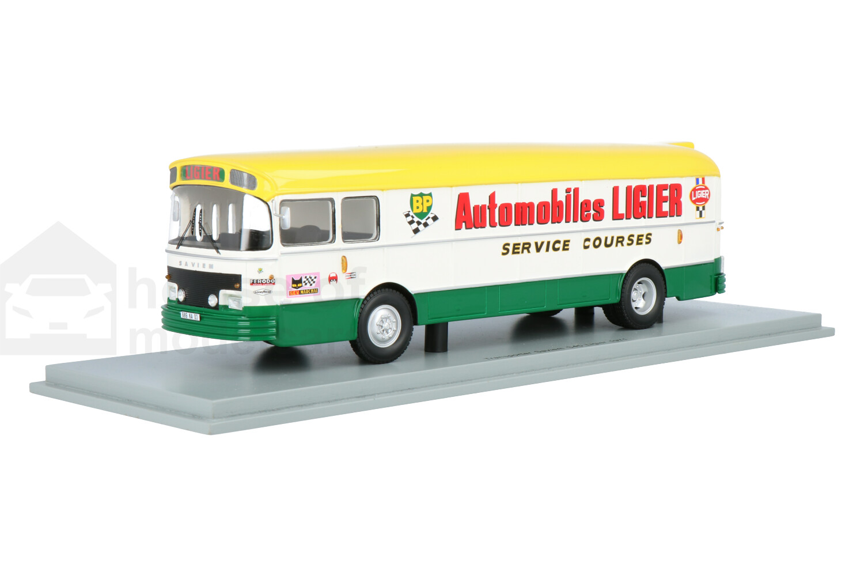 Saviem S45 Race Transporter - Modelauto schaal 1:43