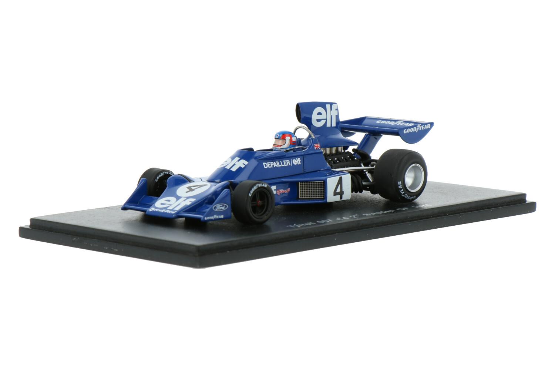 Tyrrell 007 - Modelauto schaal 1:43