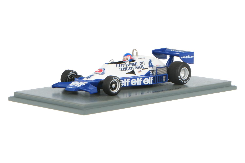 Tyrrell 008 - Modelauto schaal 1:43