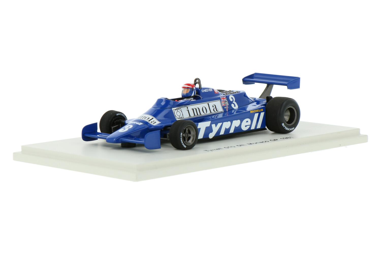 Tyrrell 010 - Modelauto schaal 1:43