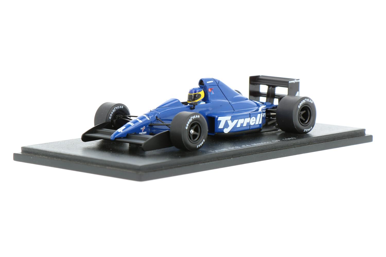 Tyrrell 018 - Modelauto schaal 1:43