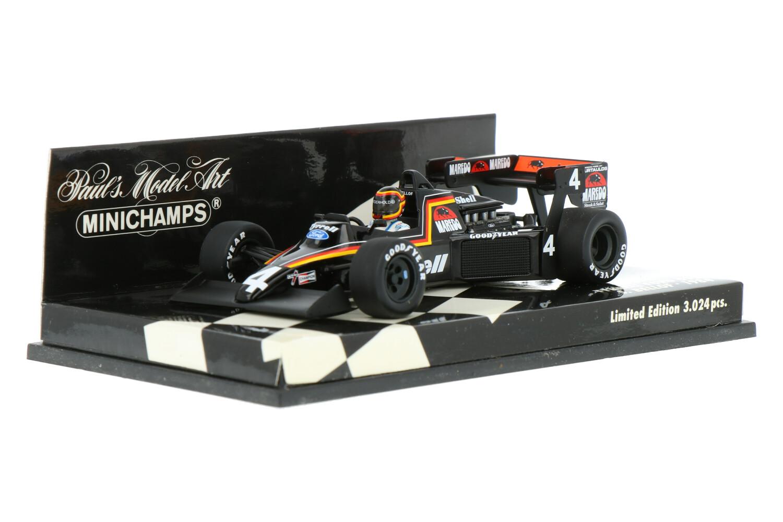 Tyrrell 012 - Modelauto schaal 1:43