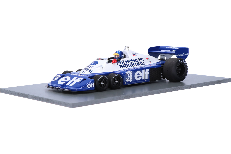 Tyrrell P34 - Modelauto schaal 1:18