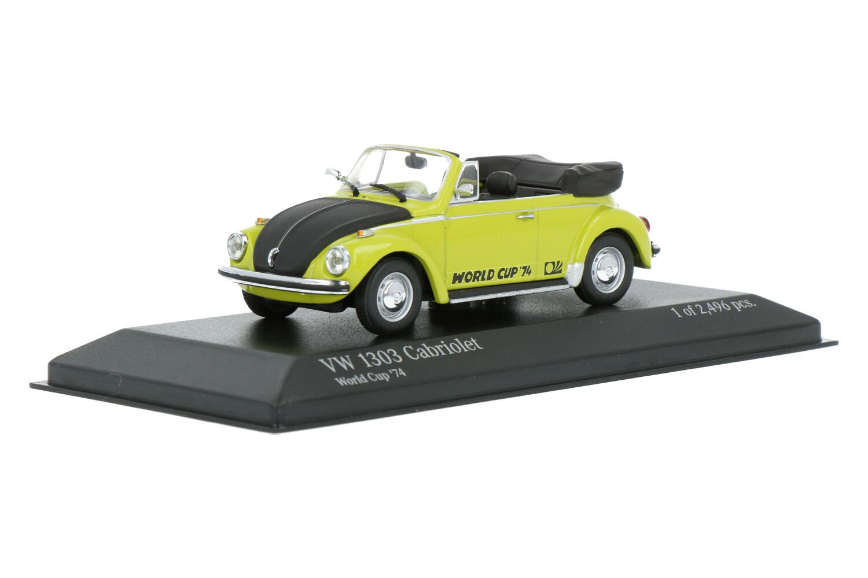 Volkswagen Kever 1303 Cabriolet - Modelauto schaal 1:43