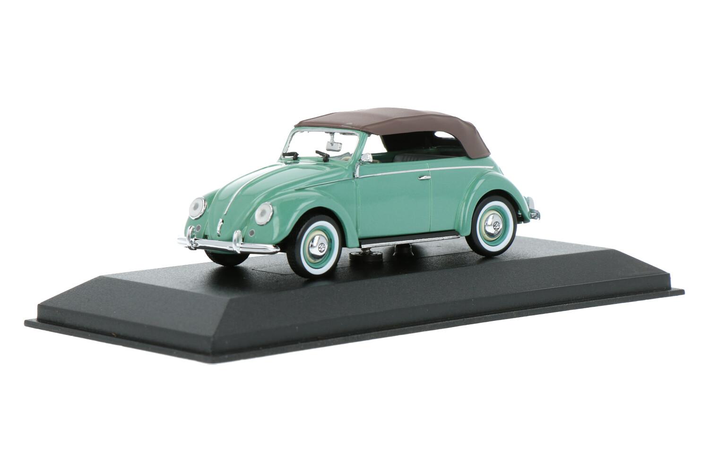 Volkswagen Kever Cabriolet Softop - Modelauto schaal 1:43