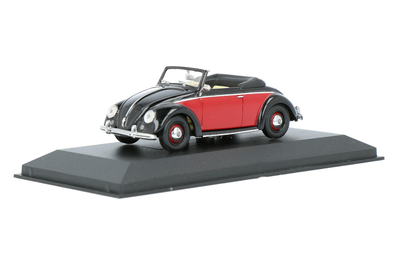 Volkswagen Kever Hebmüller Cabriolet - Modelauto schaal 1:43