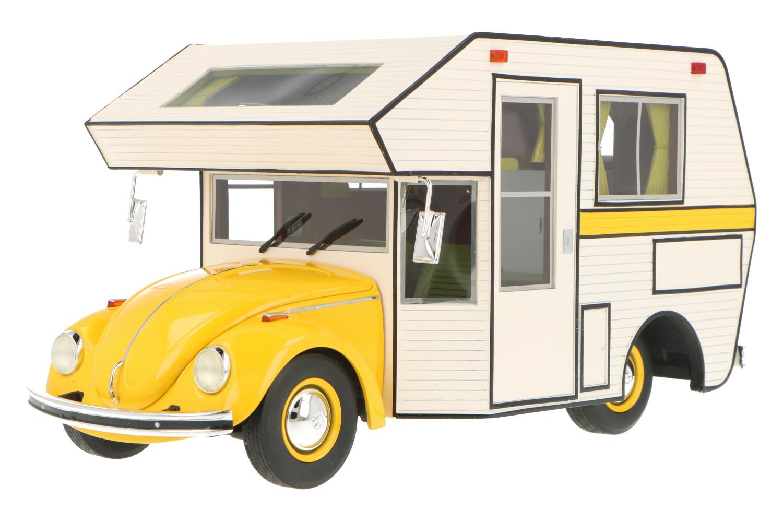 Volkswagen Kever Camper - Modelauto schaal 1:18