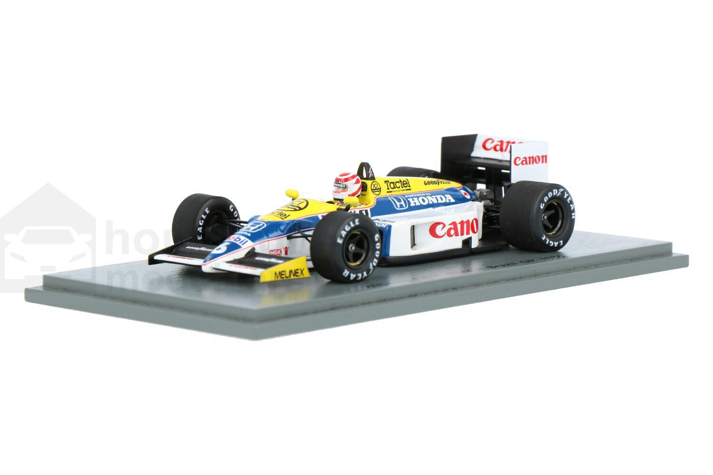 Williams F1 FW11 - Modelauto schaal 1:43