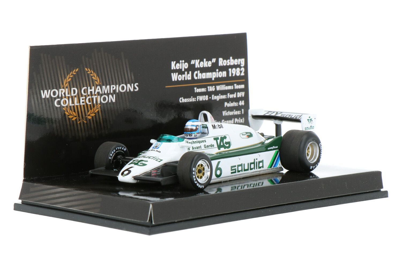 Williams F1 FW08 - Modelauto schaal 1:43