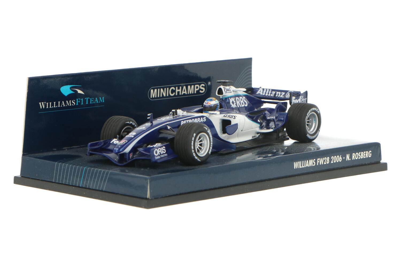 Williams F1 FW28 - Modelauto schaal 1:43
