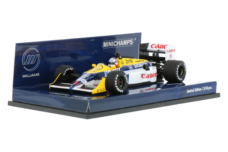 Williams F1 FW11B - Modelauto schaal 1:43