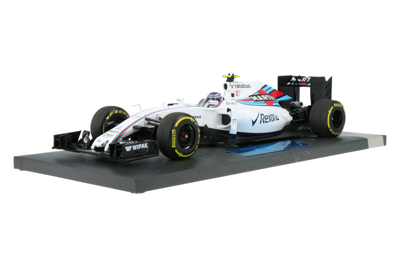 Williams F1 FW38 - Modelauto schaal 1:18