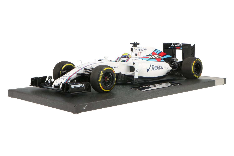 Williams F1 FW38 Mercedes - Modelauto schaal 1:18