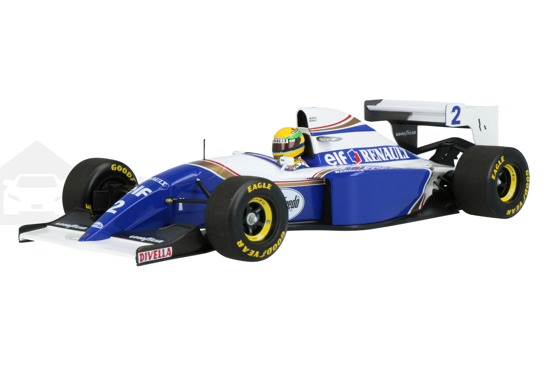 Williams F1 FW16 Renault - Modelauto schaal 1:18