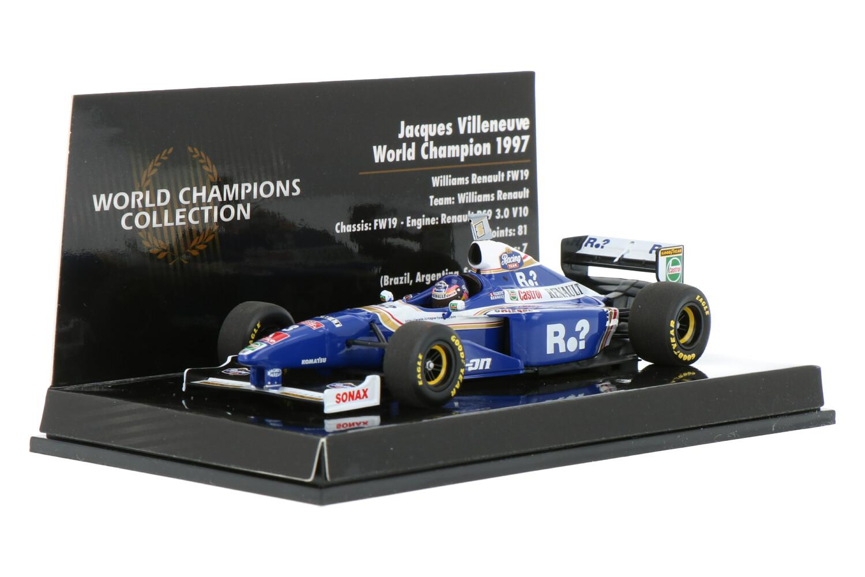 Williams F1 FW19 - Modelauto schaal 1:43