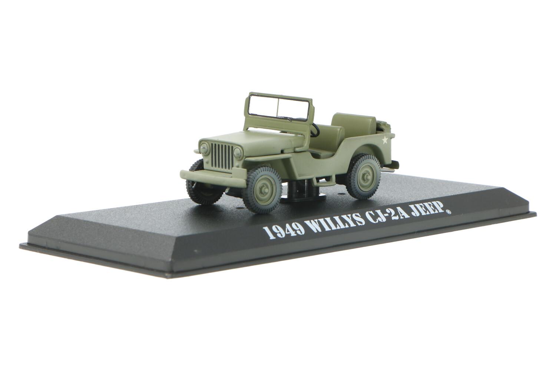Jeep Willy's CJ-2A - Modelauto schaal 1:43